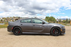 Dodge Charger SRT Hellcat Profile